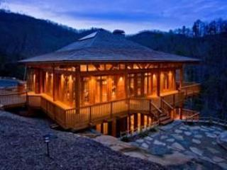 Secluded gem overlooking  waterfall near Cashiers
