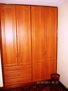 Huge Wardrobes in all rooms