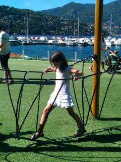Playground and Breathtaking Port in Como