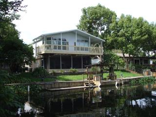 3 Bed/3 Bath Waterfront House, Huge Dock, Manatees - Weeki Wachee vacation rentals