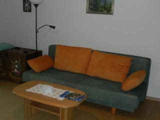 Vacation Apartment in Alpirsbach - 732 sqft, natural cork floor, parking space, child's bed available…