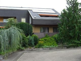 Vacation Apartment in Waldbronn - 517 sqft, wireless internet connection, private terrace (# 1359)