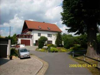 Vacation Home in Rabenau - 463 sqft, outdoor pool, alarm clocks, good location (# 1076)