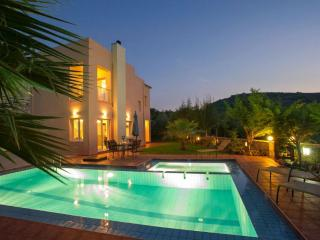 Villa Armonia, luxury holiday villa with sea view, Agia Marina