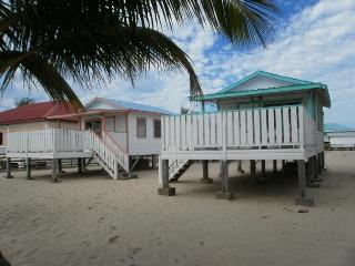 Cabanas,view from the beach