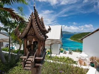 Stunning Secluded Oceanfront Private Beach Villa, St. John