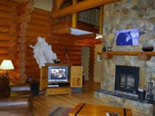 Relax in the Great Room by the Wood Burning Fireplace