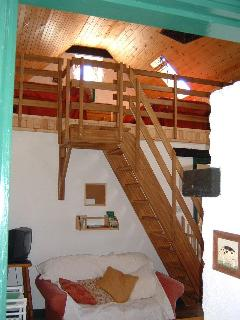 The Old Cottage: Sitting room and Loft