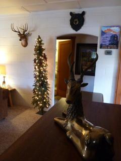 Cabin style  Mountain Christmas