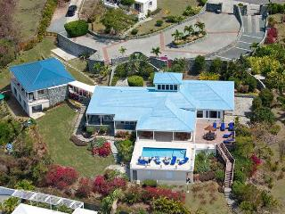 Blue Serenity at Secret Harbour, St. Thomas - Ocean View, Walk To Beach, Pool, East End