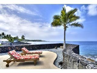 OCEANFRONT HOME  3BEDROOM  SPA  AC AT STATE BEACH, Kailua-Kona