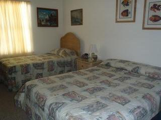 Fish bedroom sleeps 3 and has adjoining bathroom