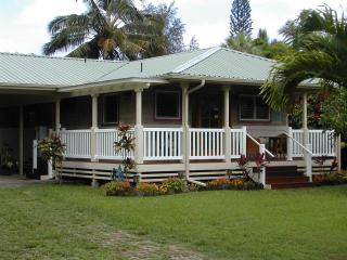 Quaint 2 bedroom cottage in the heart of Hanalei