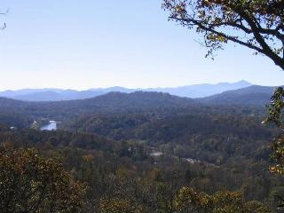 Long Range Mountain/River Views - hot tub, Asheville