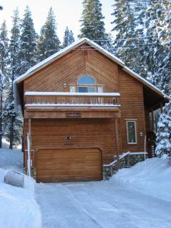 Fresh snow at Chalet Sierra!