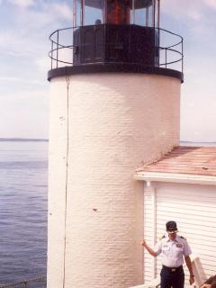 A view of Bass Harbor Head Light