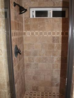 Nice open Master Shower