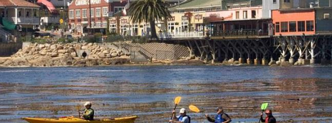 Cannery Row has many galleries, shops and restaurants