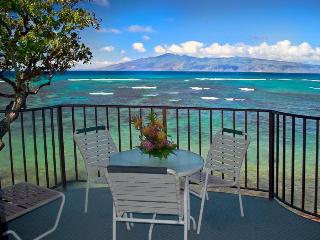 Kahana Reef 317 OCEAN FRONT TRANQUILITY - One Be, Lahaina