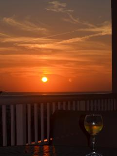 Enjoy The Sunsets From Our Balcony