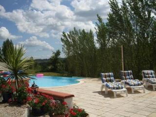 Cottage (sleeps 2-4) with infinity pool SW France, Touffailles