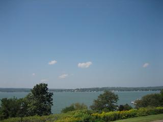 View from Unit A-3 at Chautauqua Lake Estates - Lake Chautauqua Condo - 2 Bdrm/2Bath - 1125 sq ft. - Dewittville - rentals