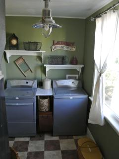 If you must do laundry while on vacation.....