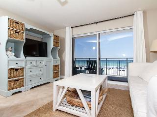 PI 212: Beautiful view from private BEACH front balcony! Free Beach Service, Fort Walton Beach