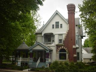 A guestroom in a B&B in the Heart of Lincolnland, Taylorville