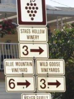Which Winery to choose from?