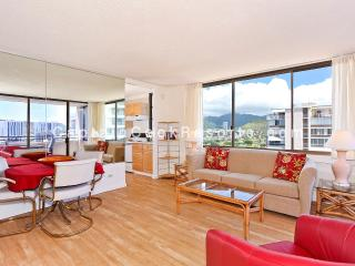 Waikiki Skytower #2002 - One bedroom vacation rental, washer/dryer, WiFi, pool & parking! - Waikiki vacation rentals