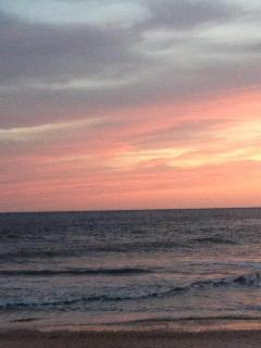 A beautiful Cape May sunset!  Thanks Terry!!