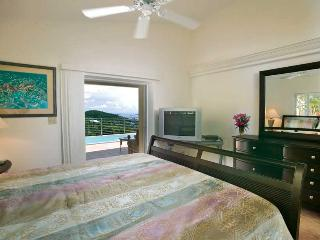 Ginger Thomas at Pocket Money Hill, just north of Cruz Bay, St. John