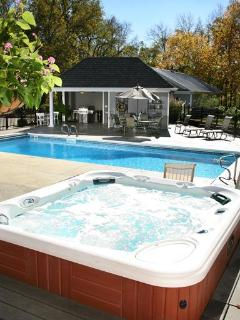 Hot Tub and Pool Area