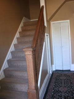 House has high ceilings and many stairs