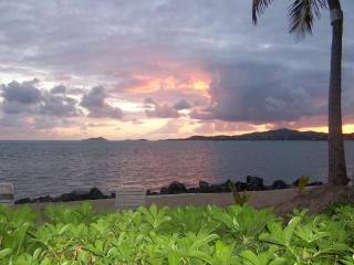 Walk out to sand & sea from our renovated condo, Christiansted