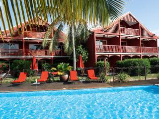 PALM COURT HOTEL...ORIENT BEACH FRENCH ST MARTIN,..LOVELY INTIMATE MORRICAN STYLE HOTEL, Orient Bay