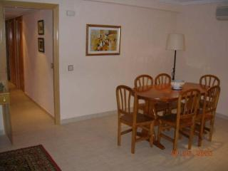 The dining room and the corridor