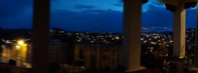Night View from 2nd floor balcony