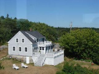 Ocean views from every bedroom, Phippsburg