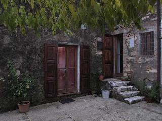 Tuscany traditional country house on a hill-top, San Giuliano Terme