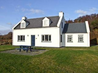DERRIANA LODGE, detached holiday home with open fires, and views over Lough Derriana, near Waterville in County Kerry, Ref 8255