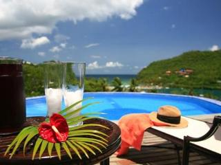 Ashiana Villa at Marigot, Saint Lucia - Panoramic Views, Pool, Air Conditioning, bahía de Marigot