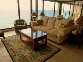 Floor to Ceiling Windows with Island Views