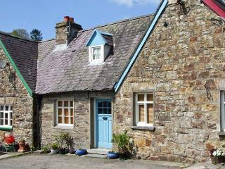 GERLAN, character cottage with woodburner, garden with covered sitting area, country/river views in Aberbanc, Ref 15241, Newcastle Emlyn