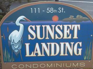 Bayside 2 BR 2 BATH unit at SUNSET LANDING 58th St, Ocean City