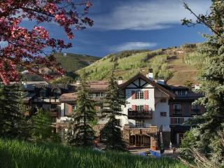 Luxury accommodations in the center of Vail Village and a short walk to the Gondola One Ski Lift.