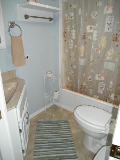 Bathroom -includes hot water on demand.