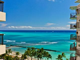 Waikiki Beach Tower #1204 - Deluxe Waikiki Ocean View 2/2 Condo with A/C, WIFI, pool, parking, sleeps 6! - Waikiki vacation rentals
