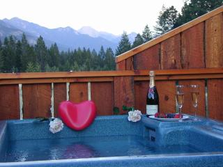 Cabins in BC Rockies and Pet Friendly private Hot tubs, Invermere
